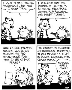 Calvin on Writing