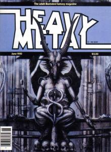 June 80 issue with the HR Giger gallery. Made me a lifelong HM fan.
