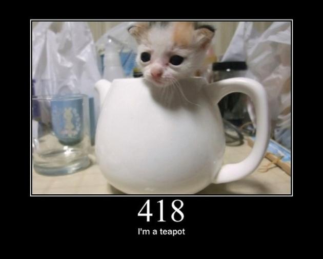 418 I Am a Teapot