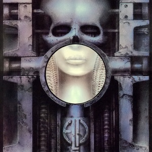 Emerson, Lake, and Palmer - Brain Salad Surgery album art.