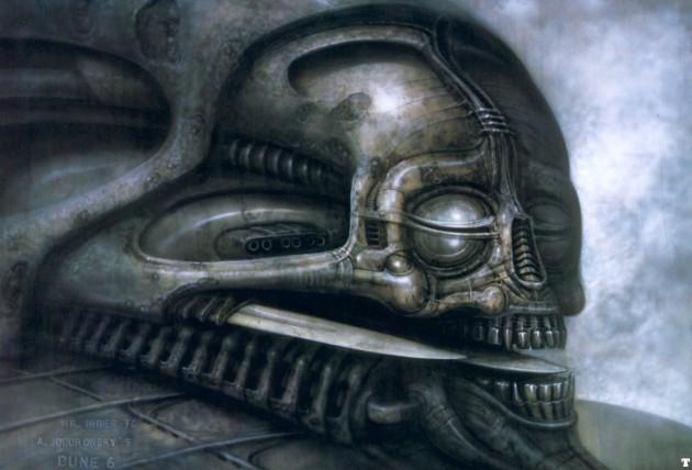 Dune IV - artwork from an unproduced Dune movie (Frank Herbert)