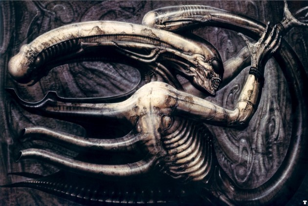 Necronom IV - The inspiration for the Alien