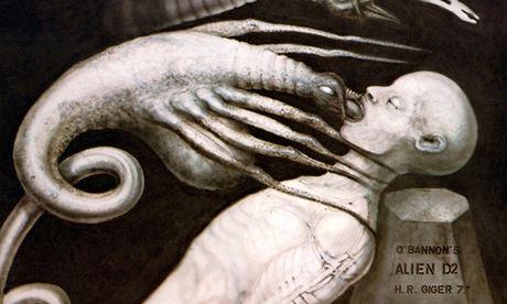 Alien artwork, 1977