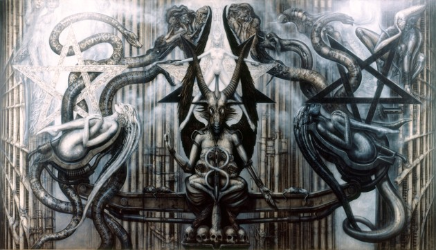 The Spell IV from Giger's Necronomicon