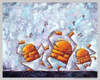 invasion of the happy dancing robots