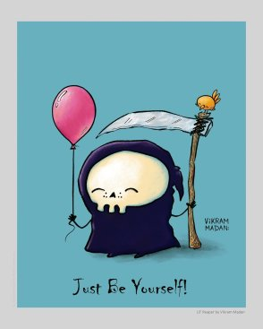 just be yourself lil reaper vikram madan